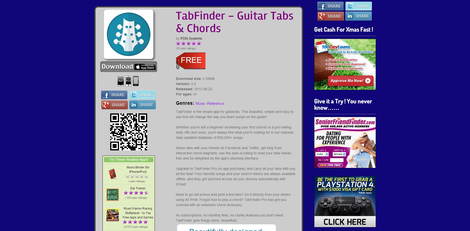 Easy App Finder TabFinder   Guitar Tabs Search Engine   Easy App Finder