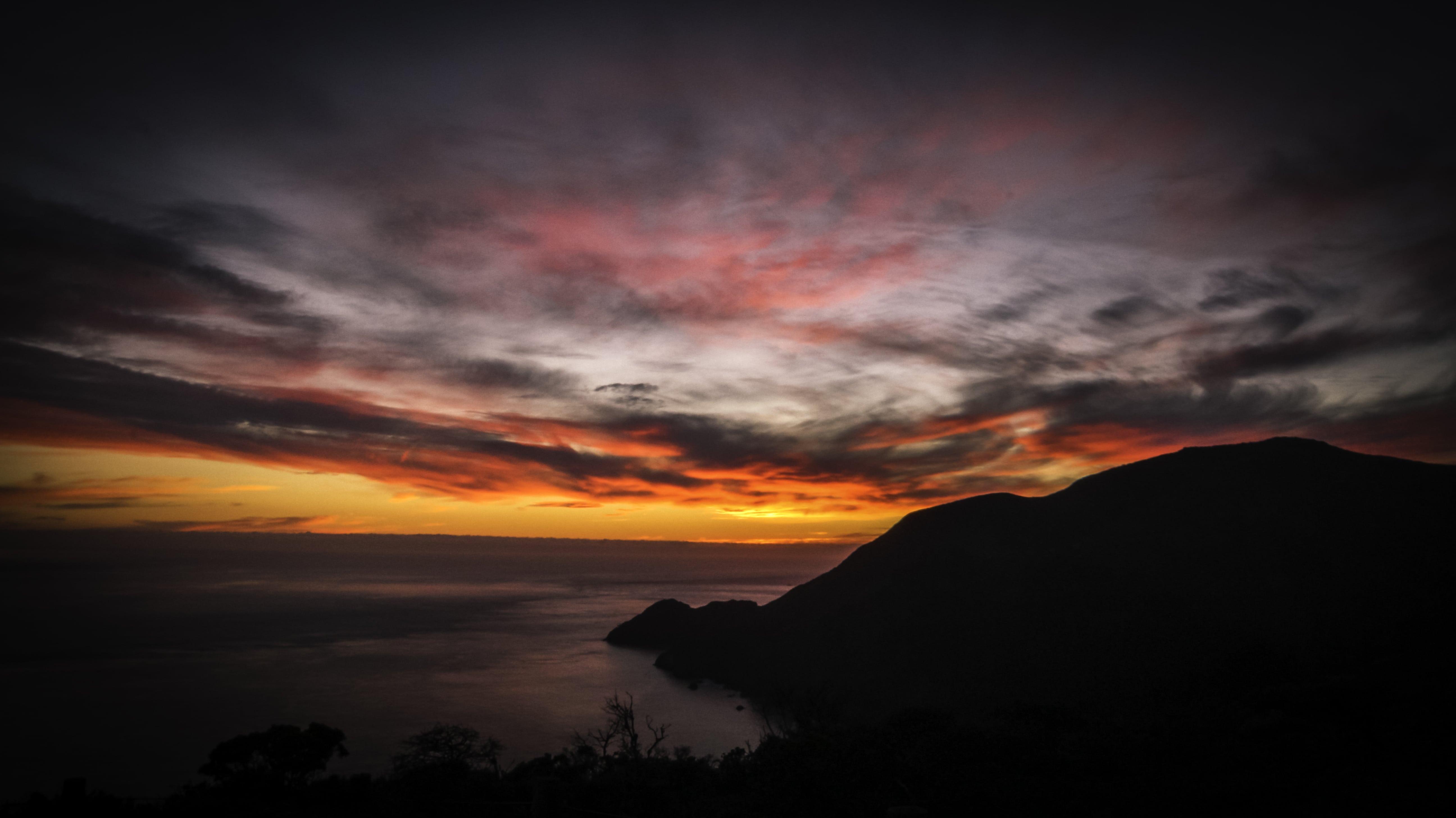 Twilight Clouds over Golden Gate Bridge